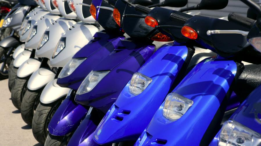 Motos para alquilar en Madrid