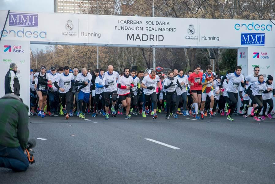 Gran éxito de la I Carrera Fundación Real Madrid