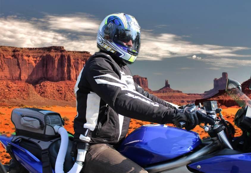 Aire acondicionado en la moto, para no pasar calor en verano