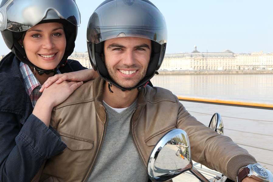 Los conductores de moto noveles