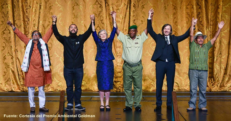 Los premios Goldman: Los premios Nobel del Medioambiente