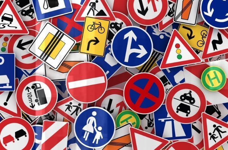 Las señales de tráfico más antiguas del mundo